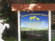 Logo Reitschule, Reiterhof Wustrow, Ferien Reiterhof Siefert